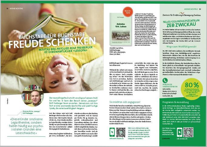 Novitas BKK, Magazin 1/2015