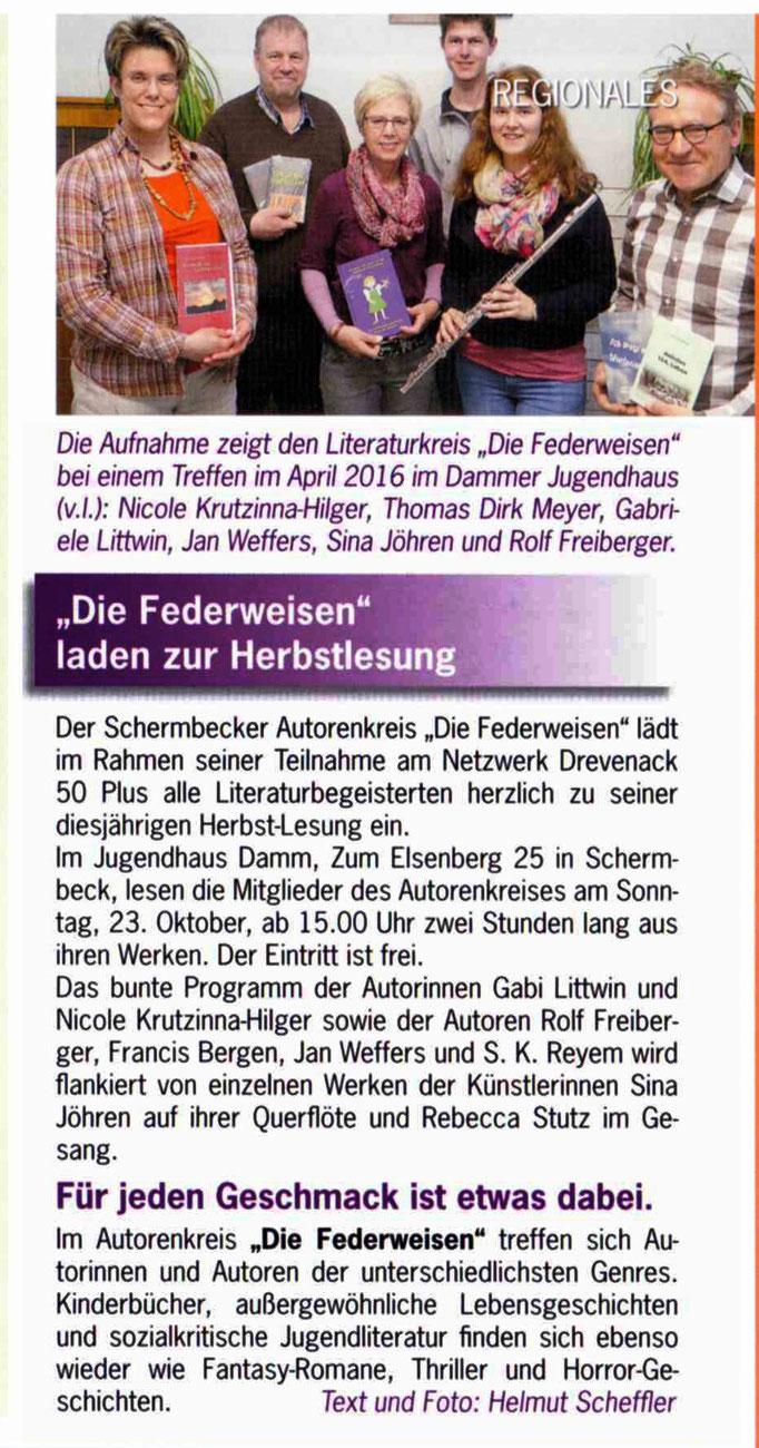 Life-Magazin Oktober 2016, Schermbeck