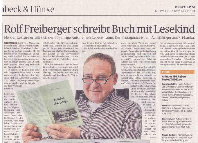 Rheinische Post, 12.11.2014