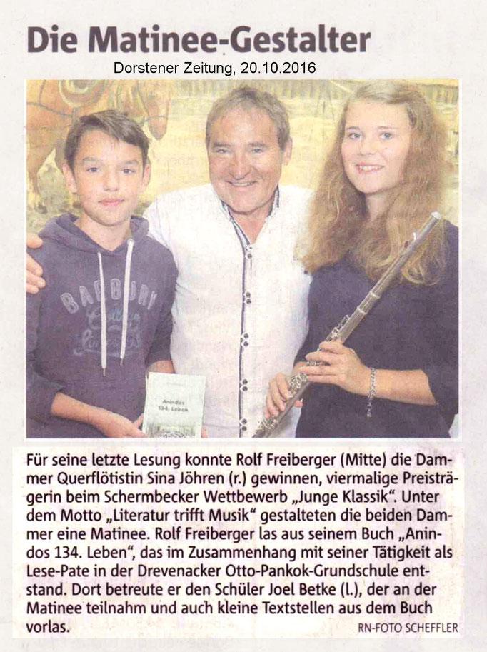 Dorstener Zeitung, 20.10.2016