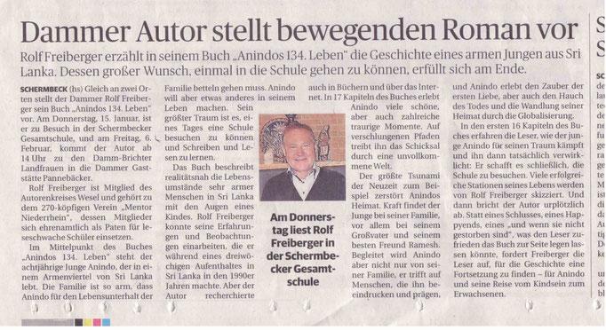 Rheinische Post, 13.01.2015