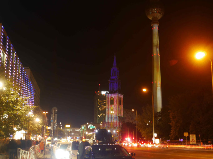 Marienkirche und Fernsehturm