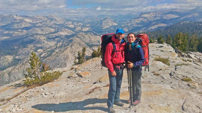 USA, Parc du Yosemite, itinérance sauvage