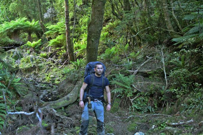 NOUVELLE-ZÉLANDE, Expédition TransGondwana, traversée du pays à pied (île du sud) et à vélo (île du nord)