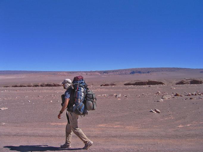 CHILI, Expédition Licancama, traversée en solitaire dans le désert d'Atacama, le plus aride du monde