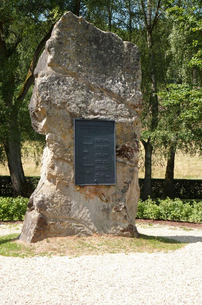 Denkmal für Europa bei Ouren