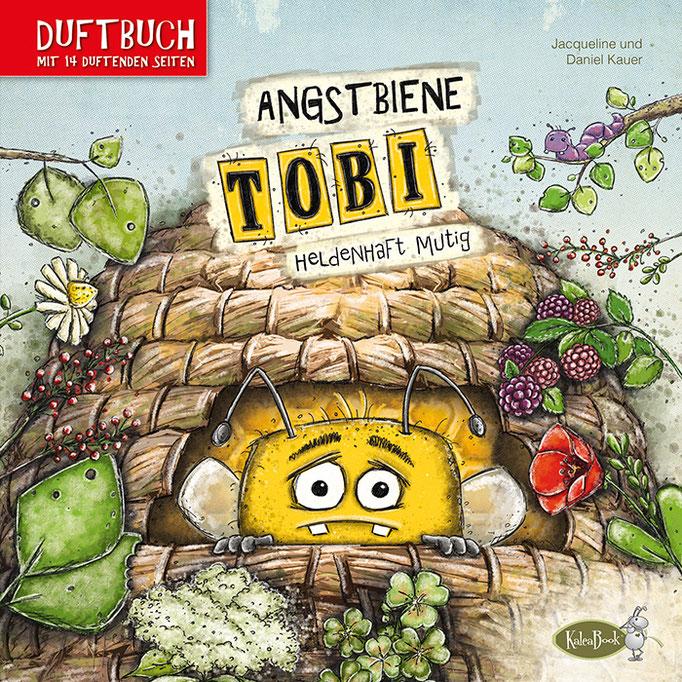 Angstbiene Tobi – Heldenhaft mutig (Duftbuch)