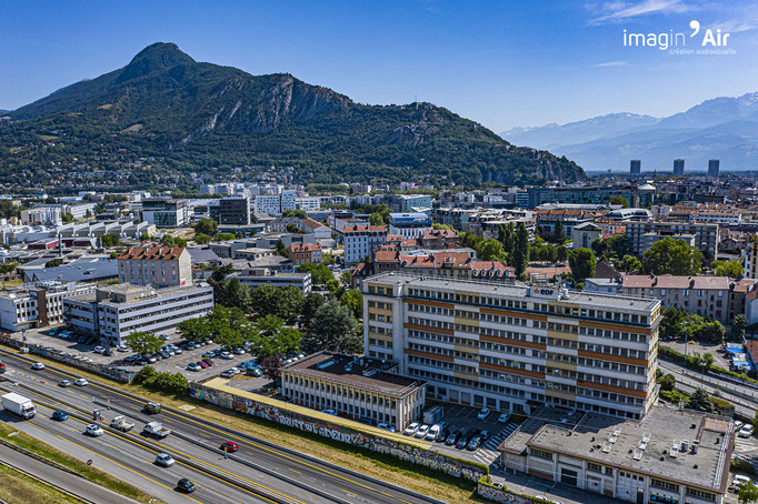 EDF Grenoble | © Imagin'Air - Benoit Perez
