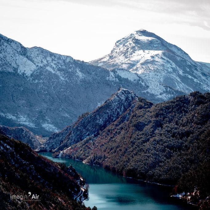 Route Napoléon (Alpes de Haute-Provence) - 08/01/2021   Crédit : Benoit PEREZ