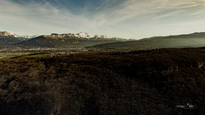 Annecy depuis Sillingy - Montagne D'Age - Sillingy (74) - 20/12/2018   Crédit : Benoit PEREZ