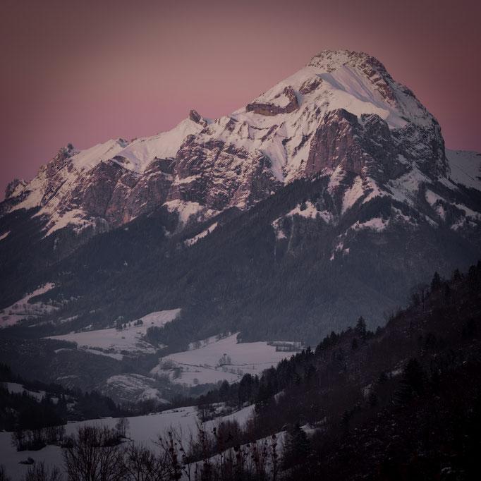 Parc des Bauges (Savoie) - 10/12/2020   Crédit : Benoit PEREZ