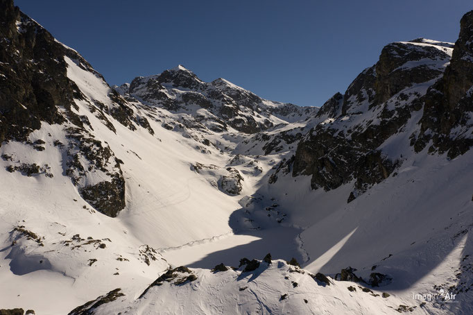 Lac du Crozet - Massif de Belledone - 17/02/2019   Crédit : Benoit PEREZ & Mélanie BÉCHIRE