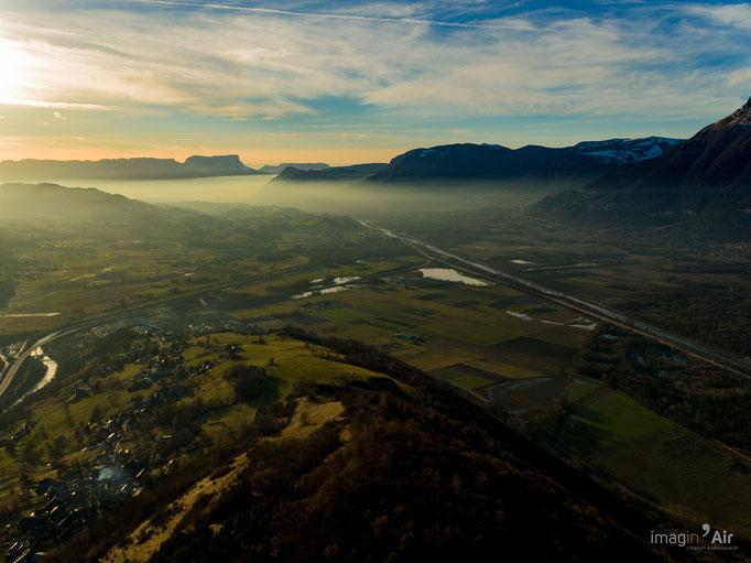La Combe de Savoie en direction du sud. (73)   Crédit : Benoit PEREZ