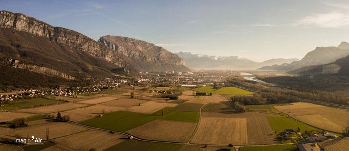 Vallée de l'Isère (38) - 17/01/2020   Crédit : Benoit PEREZ