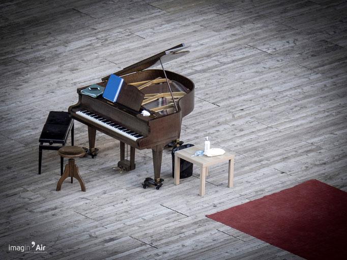 Piano - Théâtre antique d'Orange - 20/08/2020   Crédit : Benoit PEREZ