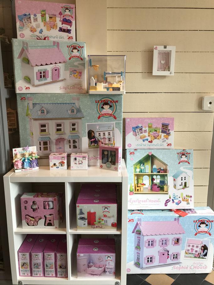 Maisons de poupées en bois pour enfants