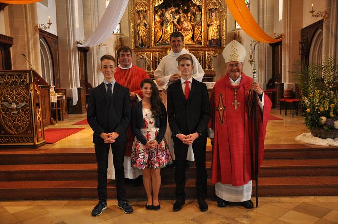 Firmlinge der Pfarrei Pauluszell