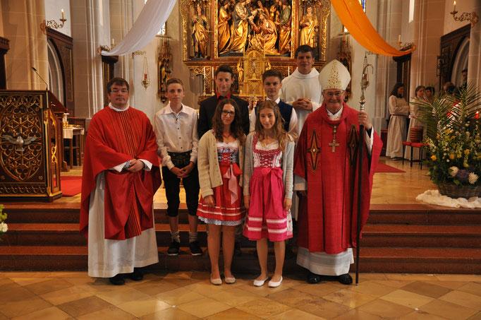 Firmlinge der Pfarrei Hinterskirchen