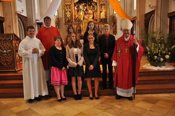 Firmlinge der Pfarrei Gebensbach