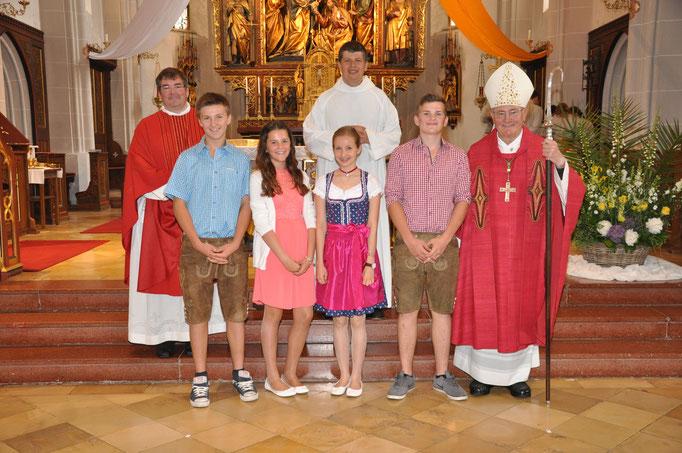 Firmlinge der Pfarrei Seifriedswörth