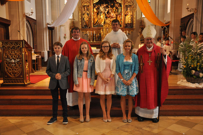 Firmlinge der Pfarrei Eberspoint