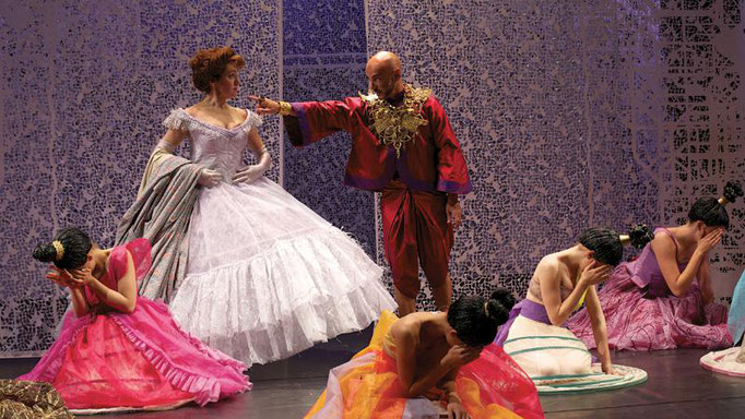 Rodgers and Hammerstein The King and I Jacques Verzier Edwige Bourdy