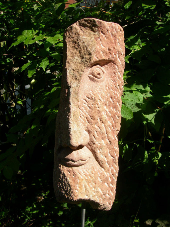 EinBlick 2014 1. SeiteRoter Mainsandstein ca. 57 cm