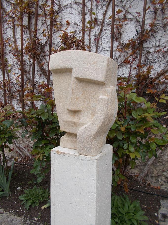 Denker II 2015 Cottaer Sandstein ca 50 cm