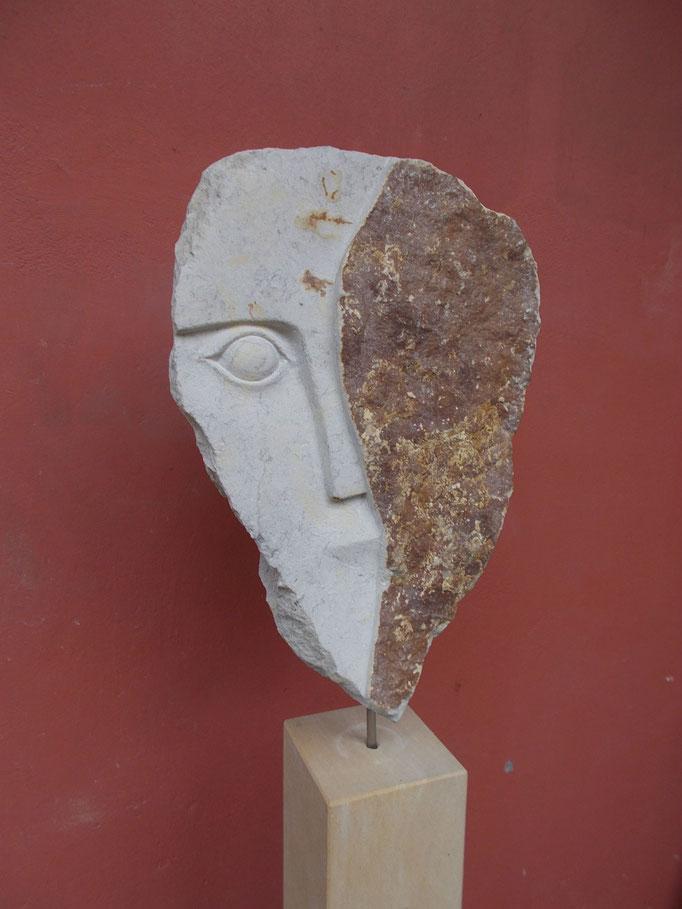Eiserne Maske 2017 Cottaer Sandstein