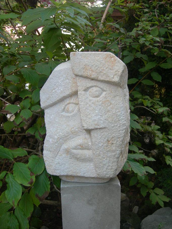 Januskopf 1. Seite 2015  Reinhardsdorfer Sandstein ca 35 cm