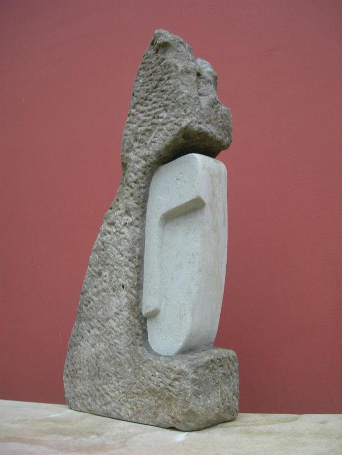 Versteckt 2014 Cottaer  Sandstein ca. 50 cm
