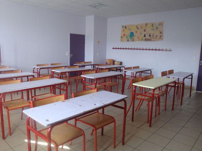 salle de classe, salle d'activités, séjour scolaire, Centre La margeride, saugues, Auvergne