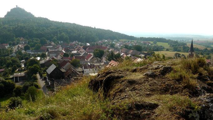 """""""Kleiner Kulm"""" mit Blick auf Neustadt am Kulm"""