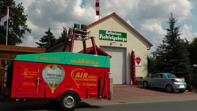 Willkommen beim Ballonteam Fichtelgebirge zur 3. Hummel-Montgolfiade in Hummeltal. © Copyright by Olaf Timm