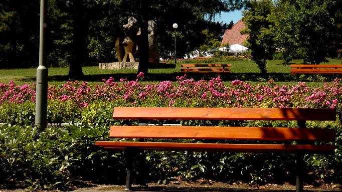 Park am Festspielhaus auf dem Grünen Hügel in Bayreuth © Copyright by Olaf Timm