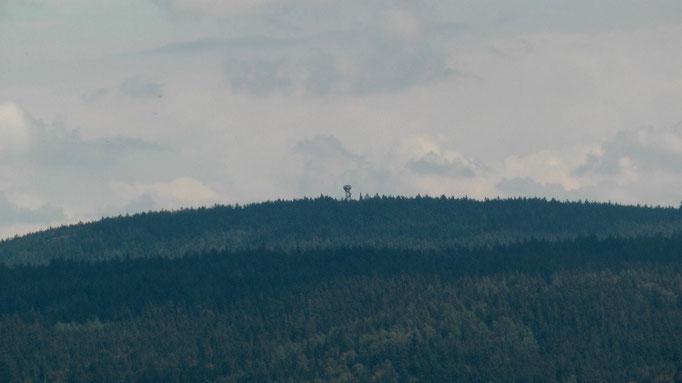 """""""WOW"""" Blick zu meinem nächsten Ziel, der Oberpfalzturm im Naturpark Steinwald"""