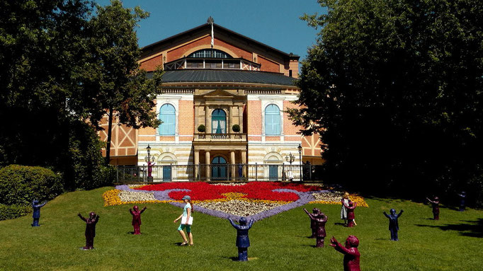 Richard Wagner Festspielhaus auf dem Grünen Hügel in Bayreuth © Copyright by Olaf Timm