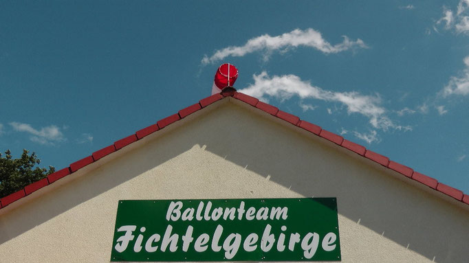 Ballonteam Fichtelgebirge Willi Ühla und Conny Kunze