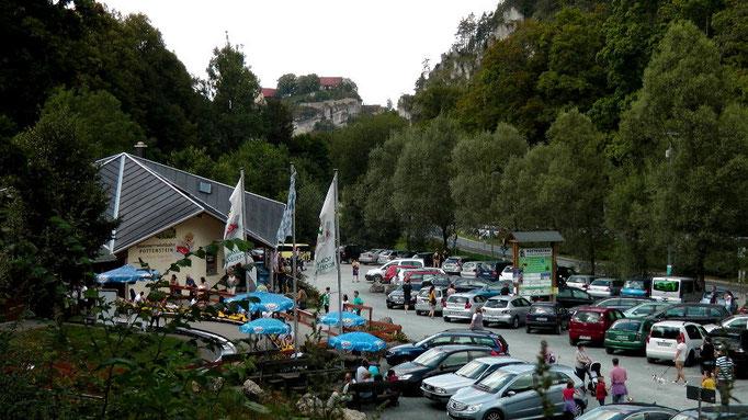 Parkplatz Sommerrodelbahnen Pottenstein