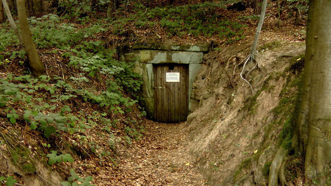 Eingang zum Felsenkeller