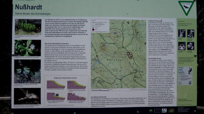 Infotafel Nußhardt 972 m