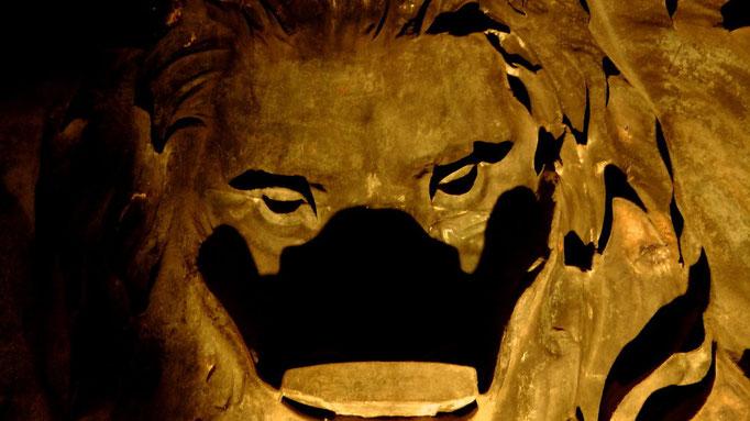 Innenansicht der Löwenkopf