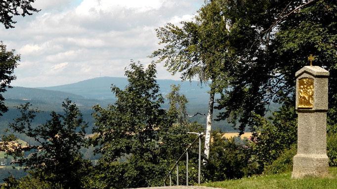 """""""WOW"""" Blick zum Ochsenkopf im Naturpark Fichtelgebirge"""