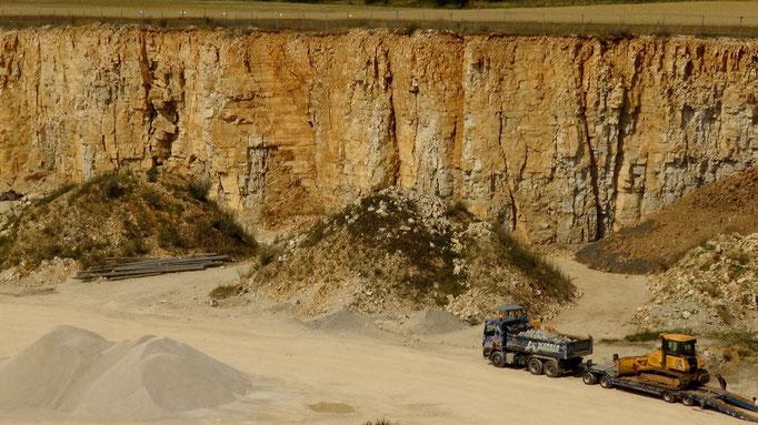 Steinbruch auf der Hohenmirsberger Platte