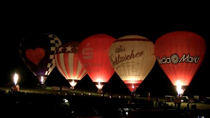 "Ballonglühen ""Nacht des Feuers"""