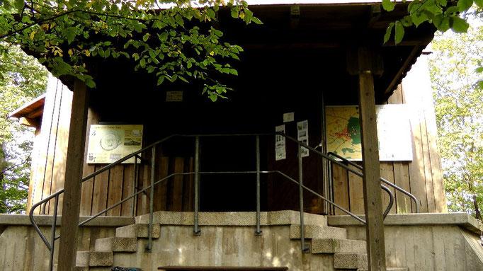 Eingang vom Aussichtsturm