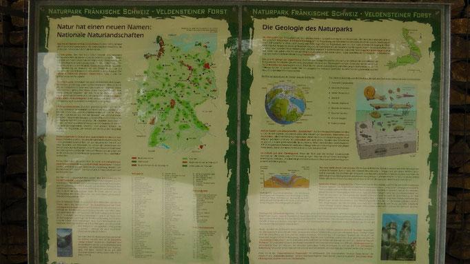 Infotafeln beim Aussichtsturm auf der Hohenmirsberger Platte