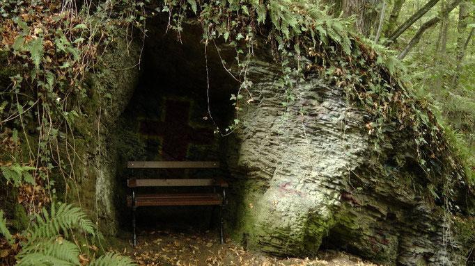 Entdeckt am Wegesrand auf dem Weg hoch zum Schlossberg