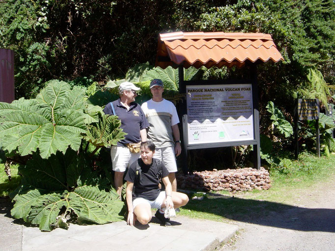 Naturpark Poas Vulkan