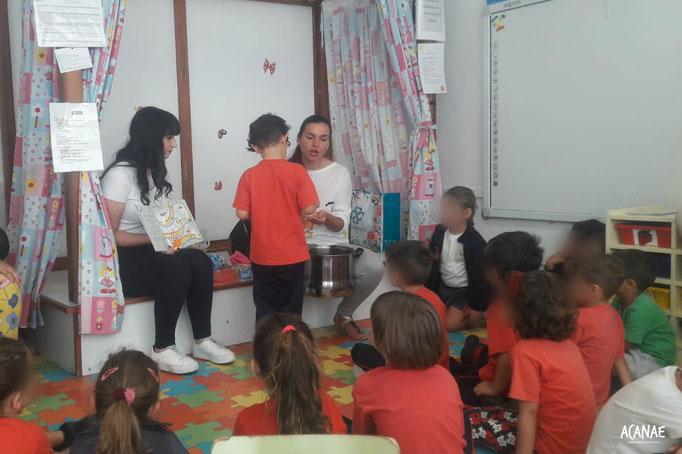 Talleres infantiles en CEIP Villa de Arico